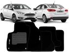 Tapete Carpete Focus 14/.. Hatch / Sedan Preto 5 pçs
