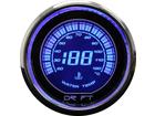 Termômetro de Água Drift Performance Iridium 52mm Luz Azul