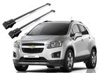 Rack Travessa de Teto para Chevrolet Tracker 2013/2016 - Projecar Prata Largo