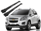 Rack Travessa de Teto para Chevrolet Tracker 2013/2016 - Projecar Preto Largo