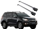 Rack Travessa de Teto para Chevrolet Trailblazer - Projecar Prata Largo