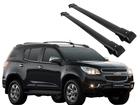 Rack Travessa de Teto para Chevrolet Trailblazer - Projecar Preto Largo