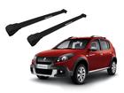 Rack Travessa de Teto para Renault Sandero Stepway - Projecar Preto Largo