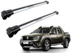 Rack Travessa de Teto para Renault Oroch - Projecar Prata Largo