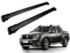 Rack Travessa de Teto para Renault Oroch - Projecar Preta Largo