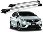 Rack Travessa de Teto para Honda Fit Twist - Projecar Prata Largo
