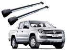 Rack Travessa de Teto para Volkswagen Amarok - Projecar Prata Largo