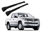 Rack Travessa de Teto para Volkswagen Amarok - Projecar Preto Largo