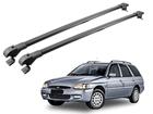 Rack Travessa de Teto Slim para Escort Wagon - Projecar Preto Fino