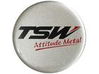 Emblema de Roda Tsw Resinado 51mm