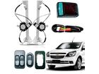 Vidro Elétrico para Agile/Montana Dianteiro Sensor+AntiEsmagamento